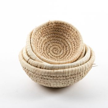 Date palm bowl (set of four) | Gallery 1 | TradeAid