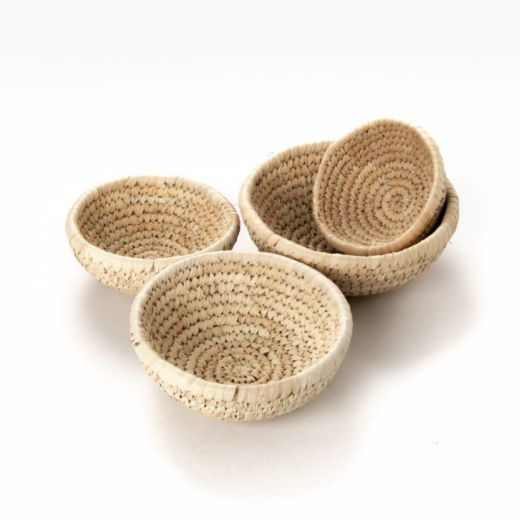 Date palm bowl (set of four) | TradeAid