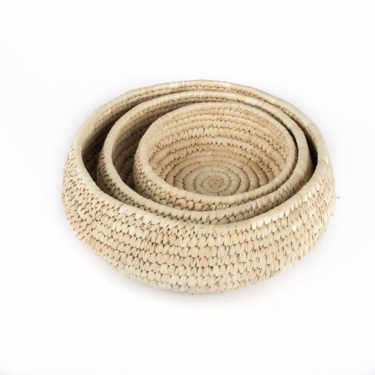 Round basket (set of three) | TradeAid
