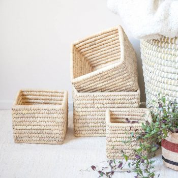 Square boxes (set of four) | TradeAid