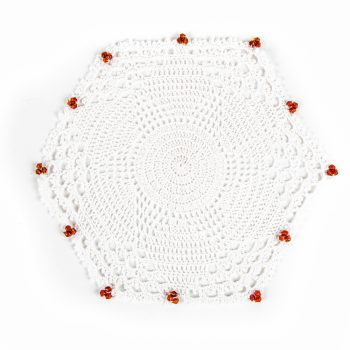 White lace doily | TradeAid