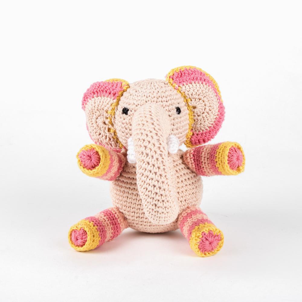 Amigurumi The Elephant Rattle | 1000x1000