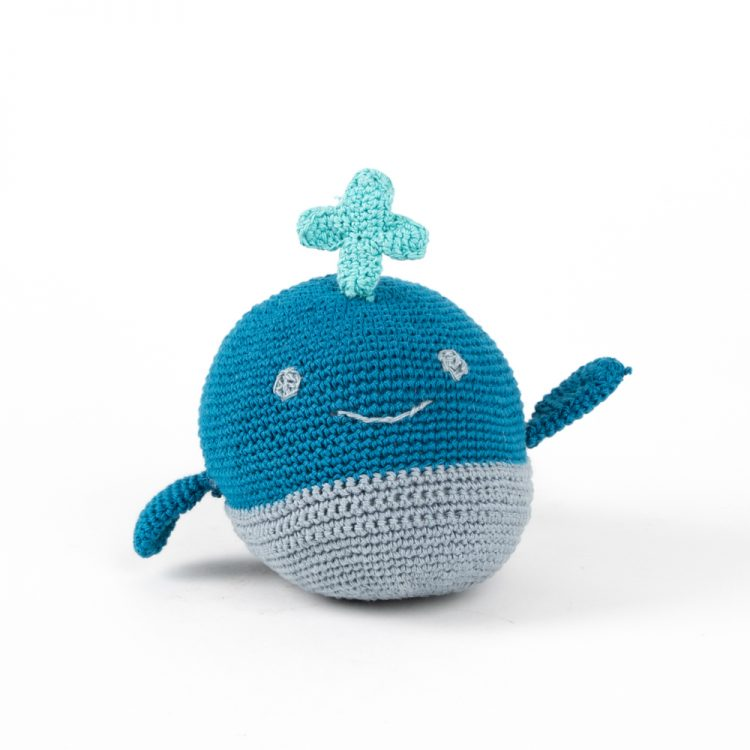 Crochet whale toy | TradeAid