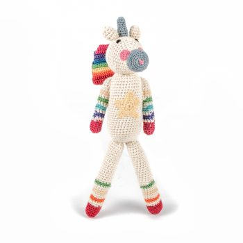 Crochet unicorn toy | TradeAid