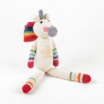 Crochet unicorn toy | Gallery 1 | TradeAid