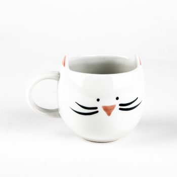 White cat mug | TradeAid