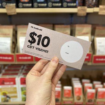 $10 gift voucher | TradeAid