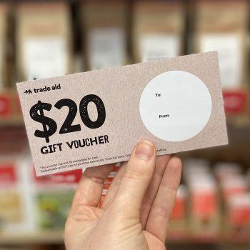 $20 gift voucher | TradeAid