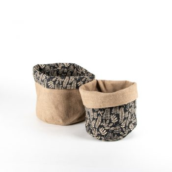 Small reversible fern basket | Gallery 2 | TradeAid