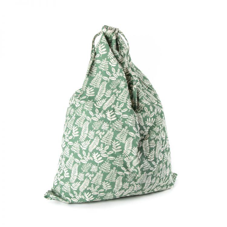 Fern fold up tote bag | TradeAid