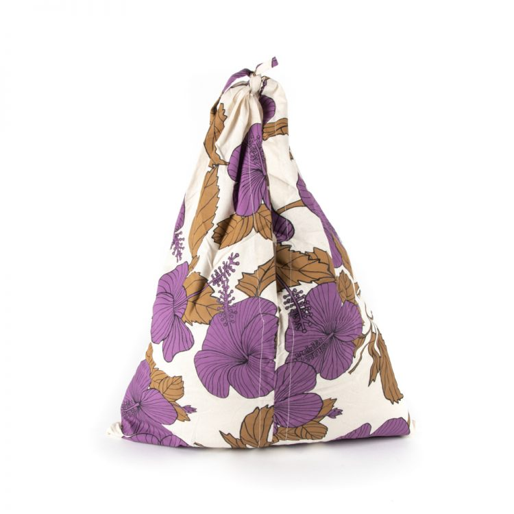 Hibiscus fold up tote bag | Gallery 1 | TradeAid