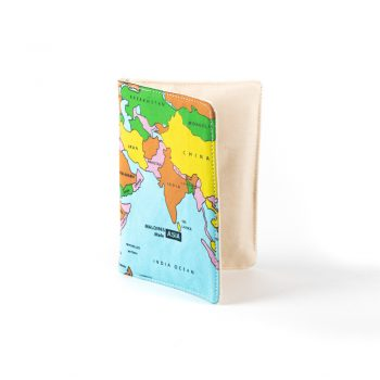 World map passport holder | TradeAid