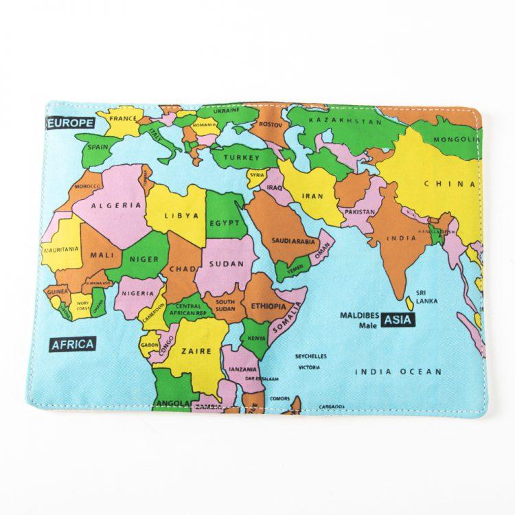 World map passport holder | Gallery 2 | TradeAid