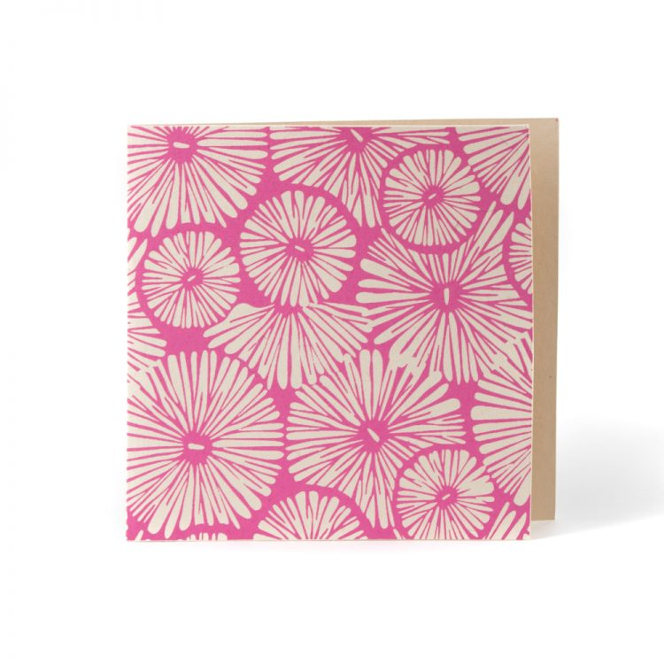 Pink flower card | TradeAid