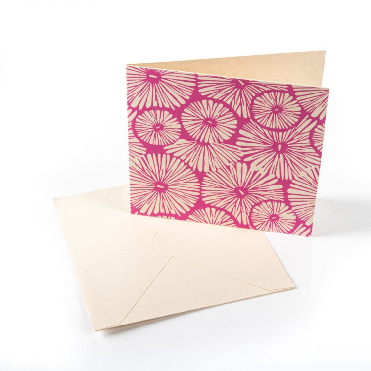 Pink flower card | Gallery 2 | TradeAid