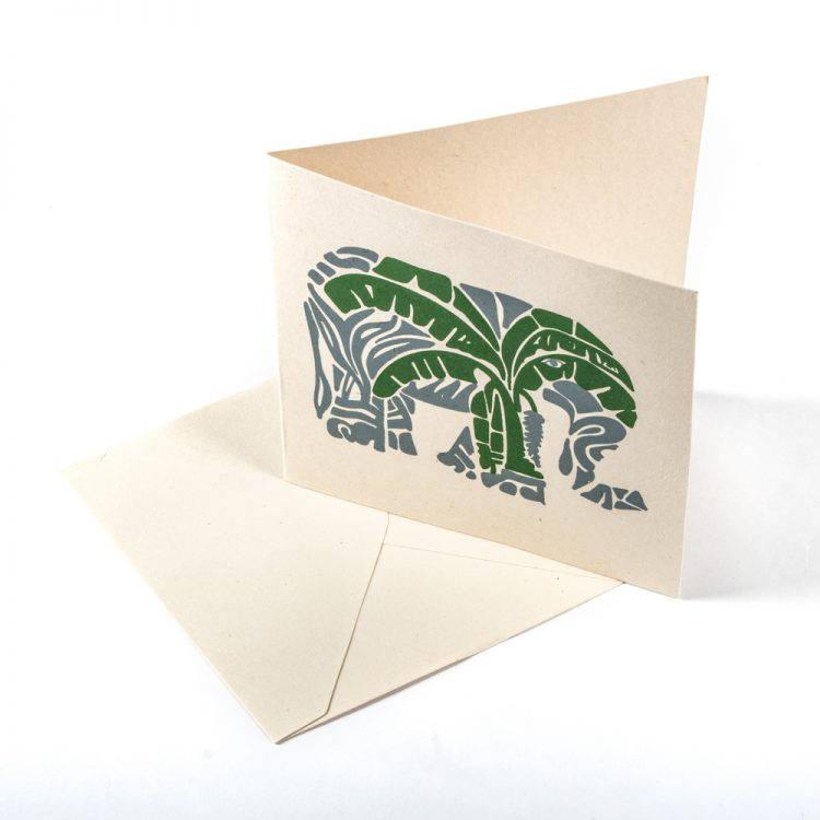 Elephant and tree card | Gallery 1 | TradeAid