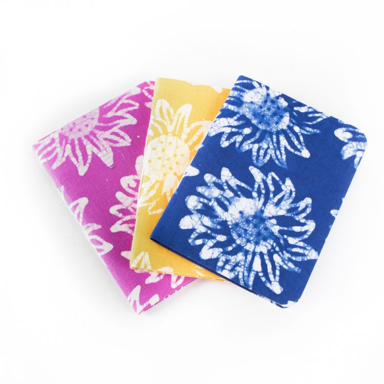Batik fabric notebook   TradeAid