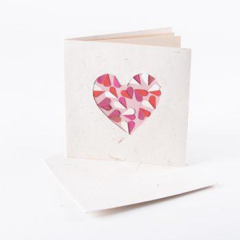 Heart cutout card | TradeAid