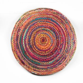Large jute and cotton rag rug | TradeAid