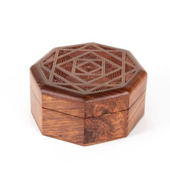 Octagonal geometric box | TradeAid
