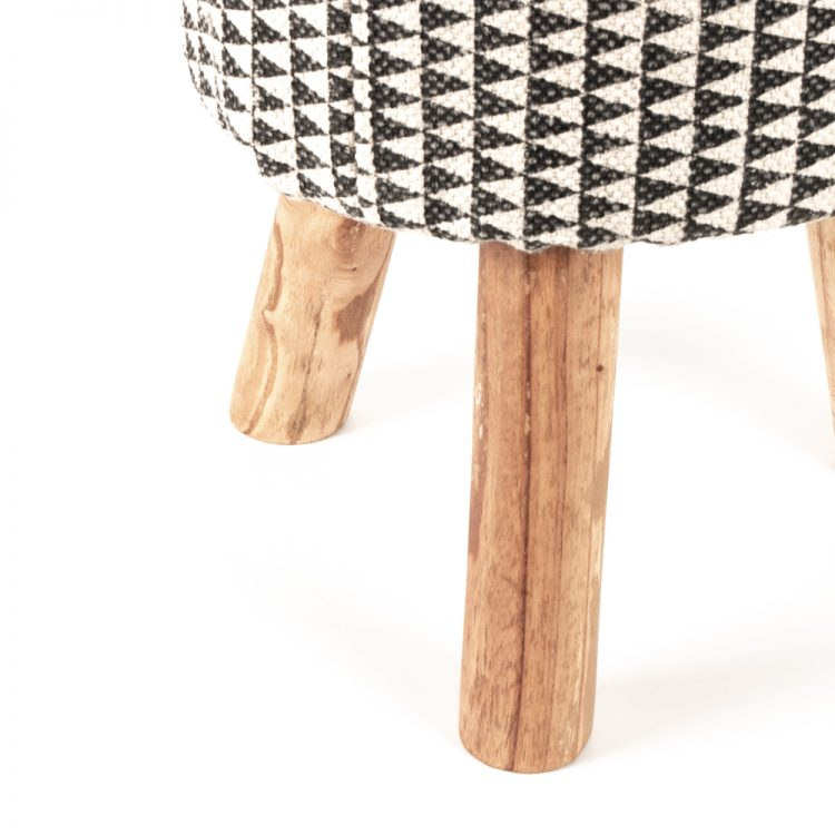 Block print stool | Gallery 2 | TradeAid