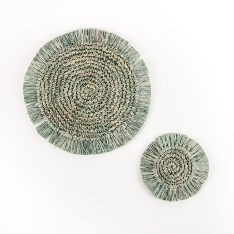 Mambo raffia placemat | Gallery 3 | TradeAid