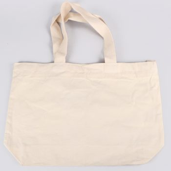 Large cotton bag with zip | TradeAid