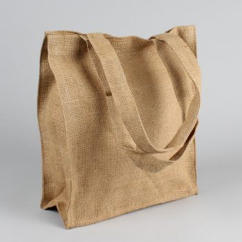 Large plain jute bag | TradeAid