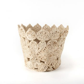 Ornate jute basket | TradeAid
