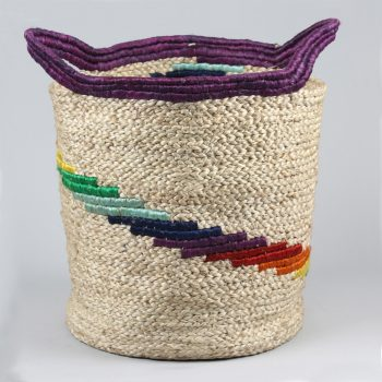 Rainbow jute basket | TradeAid