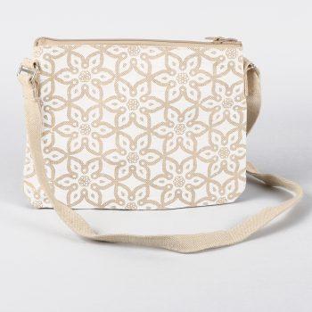 Mosaic print jute shoulder bag | TradeAid