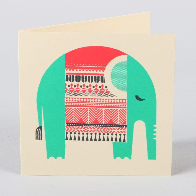 Elephant design card | TradeAid