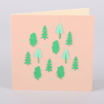 Forest print card | TradeAid