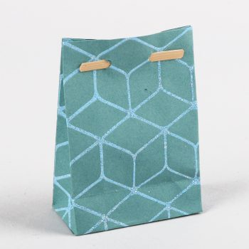 Small geometric gift bag | TradeAid