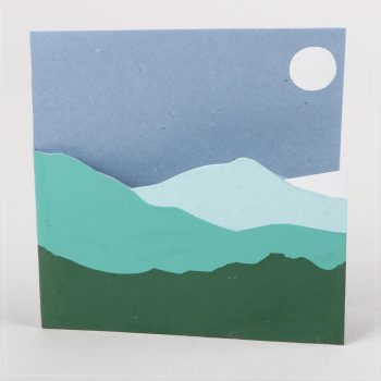 Mountain cutout card | TradeAid