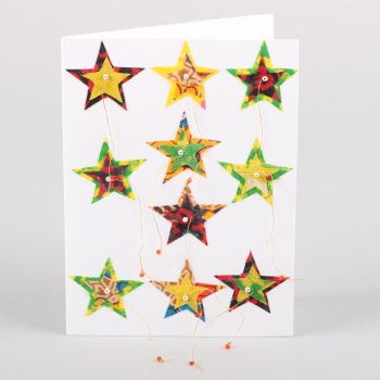 Coloured star card | Gallery 1 | TradeAid