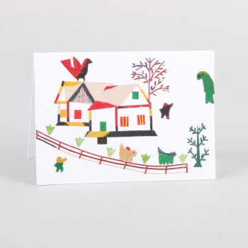 House and bird card | TradeAid
