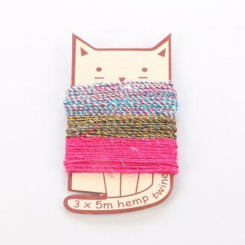 Cat shape twine pack | TradeAid