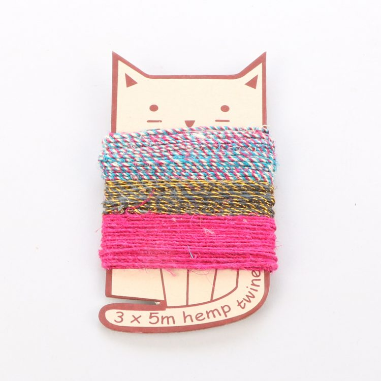 Cat shaped twine pack | TradeAid