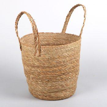 Hogla storage basket with handle | TradeAid