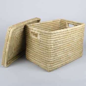 Large kaisa basket with lid | Gallery 1 | TradeAid