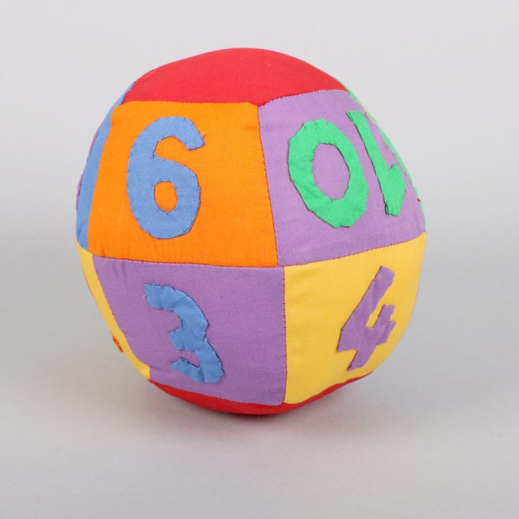 Patchwork number ball   TradeAid