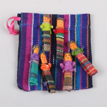 6 small worry dolls in bag | TradeAid