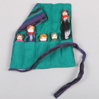 5 large worry dolls in bag | TradeAid