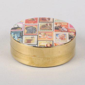 Screen printed pillbox | TradeAid