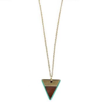 Triangle pendant necklace | TradeAid