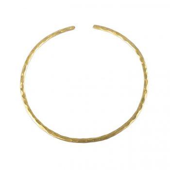 Hammered brass collar | TradeAid