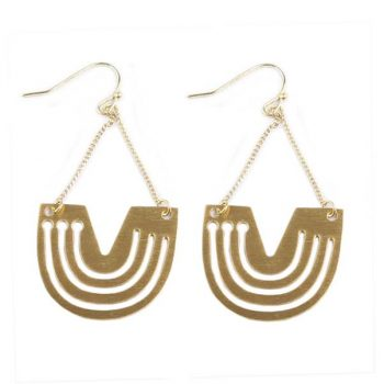 Semi circle earrings | TradeAid