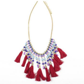 Beaded tassels necklace | TradeAid