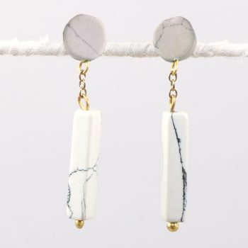 Clay bead earrings | TradeAid